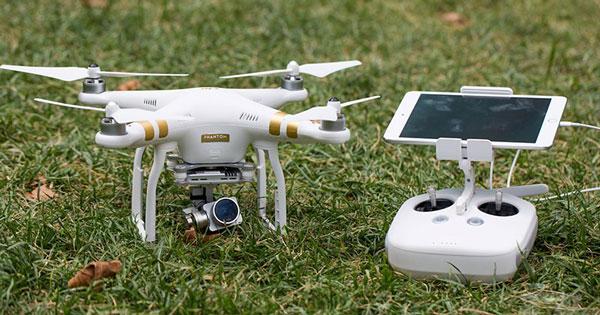 Drone per rilievo fotografico